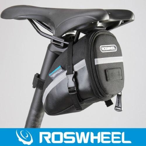 Roswheel Bicycle Strap-On Bike Saddle Bag-BlackSports &amp; Outdoor<br>Roswheel Bicycle Strap-On Bike Saddle Bag-Black<br>