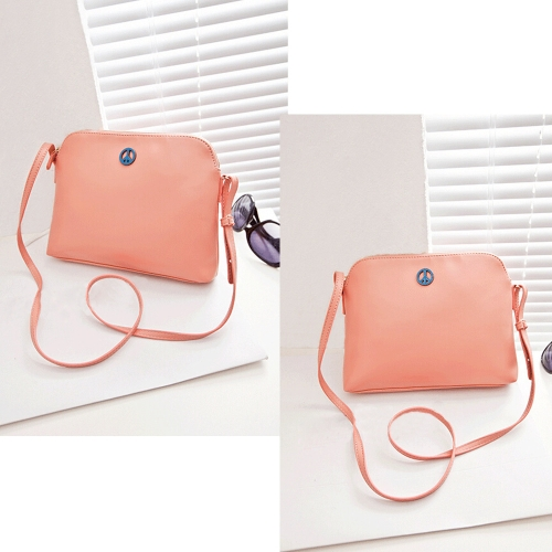 Korean Lady Women Cute Bags PU Leather Candy Color Messenger Crossbody Shoulder Bags PinkApparel &amp; Jewelry<br>Korean Lady Women Cute Bags PU Leather Candy Color Messenger Crossbody Shoulder Bags Pink<br>
