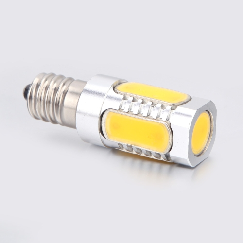 Aluminum E14 5W COB LED Light Bulb Lamp 360 Degree Warm White 96-265VHome &amp; Garden<br>Aluminum E14 5W COB LED Light Bulb Lamp 360 Degree Warm White 96-265V<br>