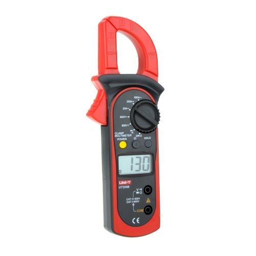 UNI-T UT200B LCD Backlight AC/DC Voltage AC Current Resistance Digital Clamp MetersTest Equipment &amp; Tools<br>UNI-T UT200B LCD Backlight AC/DC Voltage AC Current Resistance Digital Clamp Meters<br>