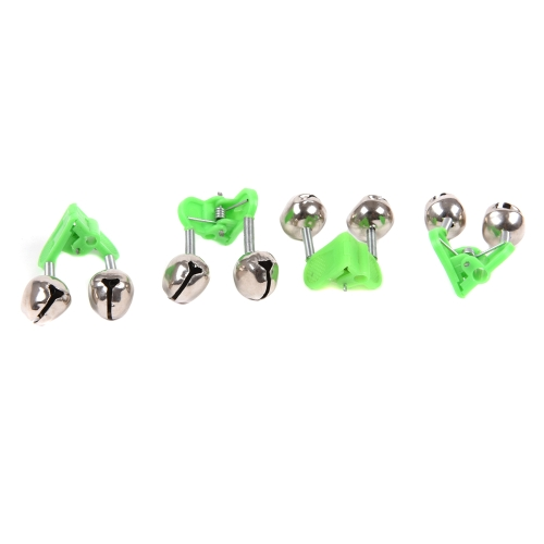 50Pcs 4.5cm Outdoor Twin Bells Ring Fishing Rod Clamp Bite Lure AlarmSports &amp; Outdoor<br>50Pcs 4.5cm Outdoor Twin Bells Ring Fishing Rod Clamp Bite Lure Alarm<br>