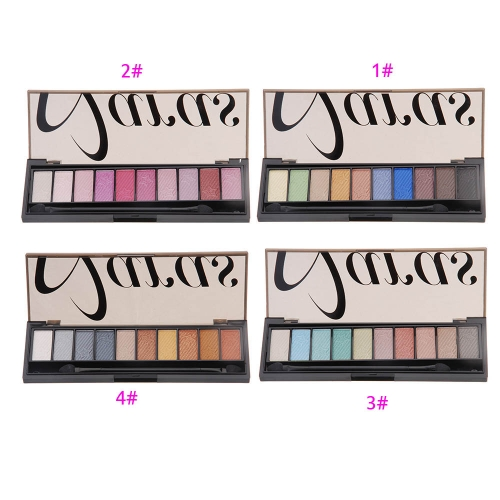 10 Color Sky with Stars Eye Shadow Palette Full Shimmer Pearlescent Color MatteHealth &amp; Beauty<br>10 Color Sky with Stars Eye Shadow Palette Full Shimmer Pearlescent Color Matte<br>