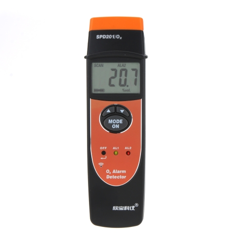 SINPO SPO201 Palm Size Type LCD Backllight 0~25? VOL Oxygen(O2 ) Alarm DetectorTest Equipment &amp; Tools<br>SINPO SPO201 Palm Size Type LCD Backllight 0~25? VOL Oxygen(O2 ) Alarm Detector<br>