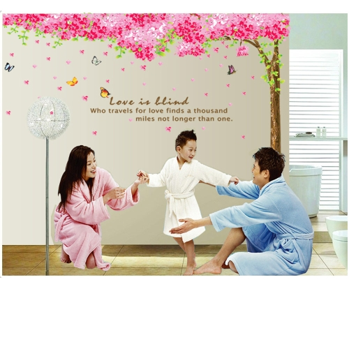 Romantic Cherry Removable 3pcs Wall Stickers Art Decals Mural DIY Wallpaper for Room Decal 60 * 90cmHome &amp; Garden<br>Romantic Cherry Removable 3pcs Wall Stickers Art Decals Mural DIY Wallpaper for Room Decal 60 * 90cm<br>