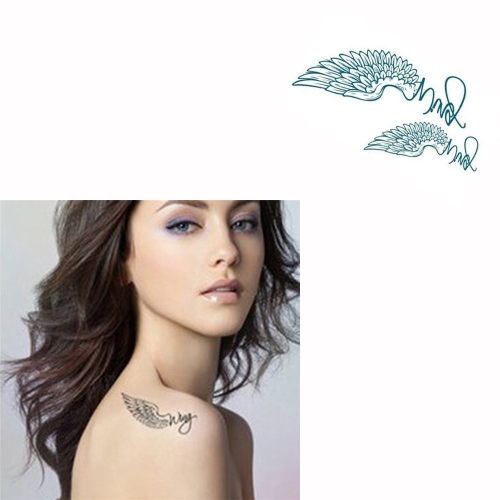 Tattoo Sticker Wings Pattern Waterproof Temporary Tattooing Paper Body ArtHealth &amp; Beauty<br>Tattoo Sticker Wings Pattern Waterproof Temporary Tattooing Paper Body Art<br>