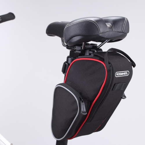 Roswheel Cycling Bicycle Folding Bike Seatpost Bag Pouch Seat Saddle Rear Tail Package OutdoorSports &amp; Outdoor<br>Roswheel Cycling Bicycle Folding Bike Seatpost Bag Pouch Seat Saddle Rear Tail Package Outdoor<br>