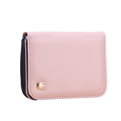 Fashion Short Women Purse Crown Zip PU Leather Candy Color Fold out Wallet Card Holder ClutchApparel &amp; Jewelry<br>Fashion Short Women Purse Crown Zip PU Leather Candy Color Fold out Wallet Card Holder Clutch<br>