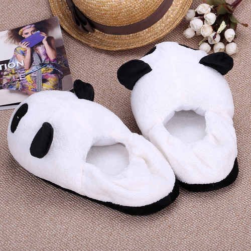 Indoor Novelty Slipper for Lovers Winter Warm Slippers Lovely Cartoon Panda Face Soft Plush Household Thermal Shoes 28cm / 11inHome &amp; Garden<br>Indoor Novelty Slipper for Lovers Winter Warm Slippers Lovely Cartoon Panda Face Soft Plush Household Thermal Shoes 28cm / 11in<br>