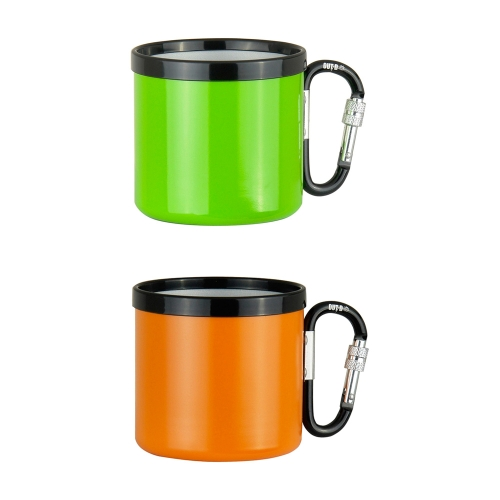Outdoor Camping Ultralight Portable 400ML Aluminum Alloy Travel Water Cup with Screw Lock BuckleSports &amp; Outdoor<br>Outdoor Camping Ultralight Portable 400ML Aluminum Alloy Travel Water Cup with Screw Lock Buckle<br>