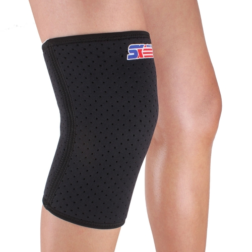 SX607 Breathable Sports Knee Pad Guard Protector BlackSports &amp; Outdoor<br>SX607 Breathable Sports Knee Pad Guard Protector Black<br>