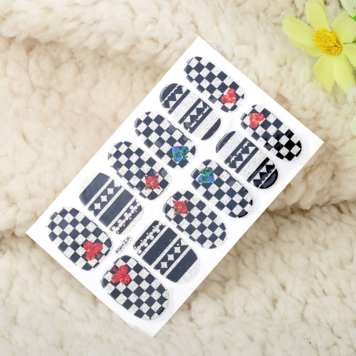 One Sheet Mix Style DIY Nail Art Stickers Patch Wraps Fingers Tips DecorationHealth &amp; Beauty<br>One Sheet Mix Style DIY Nail Art Stickers Patch Wraps Fingers Tips Decoration<br>