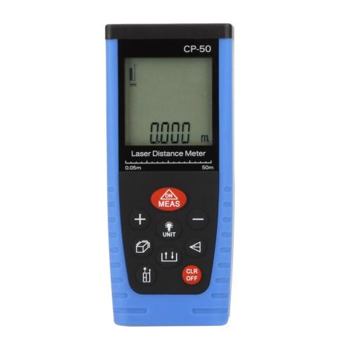 CP-50 Handheld Professional Laser Distance Meter Rangefinder Measuring 0.05~50mTest Equipment &amp; Tools<br>CP-50 Handheld Professional Laser Distance Meter Rangefinder Measuring 0.05~50m<br>