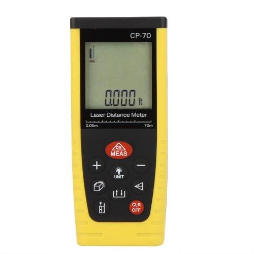 CP-70 Portable Professional Laser Distance Meter Rangefinder Measuring 0.05~70mTest Equipment &amp; Tools<br>CP-70 Portable Professional Laser Distance Meter Rangefinder Measuring 0.05~70m<br>