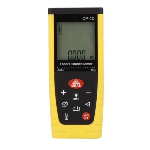 CP-40 palmare telemetro professionale distanziometro laser / distanza misuratore laser misura 0.05 ~ 40m