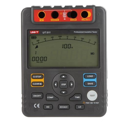 UNI-T UT511 Insulation Resistance Testers Megohmmeter Low Ohmmeter Voltmeter Auto Range 1000V 10G?Test Equipment &amp; Tools<br>UNI-T UT511 Insulation Resistance Testers Megohmmeter Low Ohmmeter Voltmeter Auto Range 1000V 10G?<br>