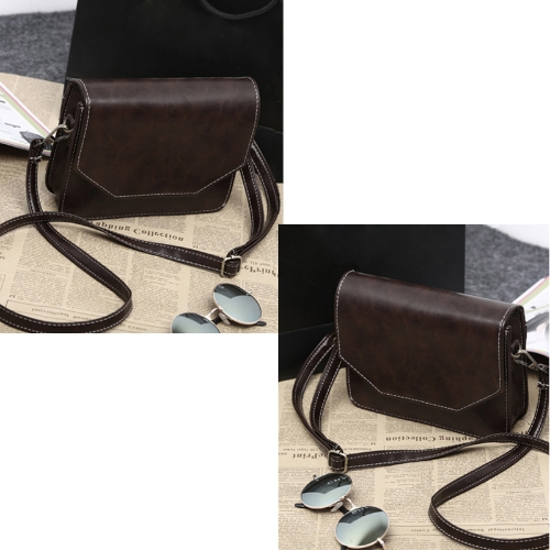Retro Women Shoulder Bag PU Leather Magnetic Button Crossbody Messenger BagApparel &amp; Jewelry<br>Retro Women Shoulder Bag PU Leather Magnetic Button Crossbody Messenger Bag<br>