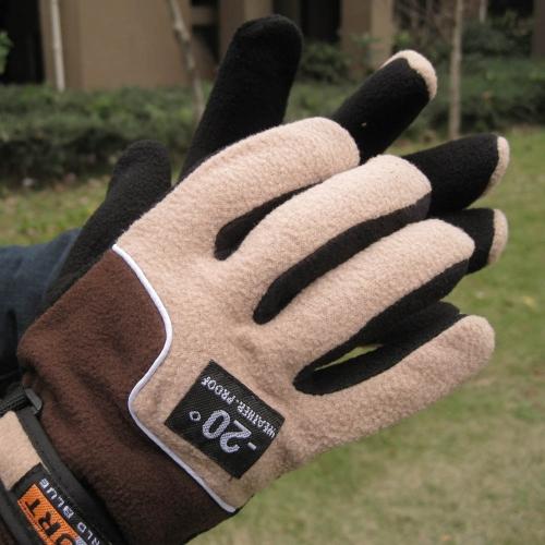 Adjustable Gloves Men Full Finger Fleece Outdoor Windproof Thermal Winter Ski Cycling Skiing HikingSports &amp; Outdoor<br>Adjustable Gloves Men Full Finger Fleece Outdoor Windproof Thermal Winter Ski Cycling Skiing Hiking<br>