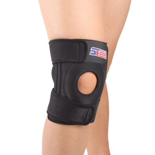 SX520 Adjustable Sports Leg Knee Support Brace Wrap Protector Pad Patella Guard 4 Spring Bars BlackSports &amp; Outdoor<br>SX520 Adjustable Sports Leg Knee Support Brace Wrap Protector Pad Patella Guard 4 Spring Bars Black<br>