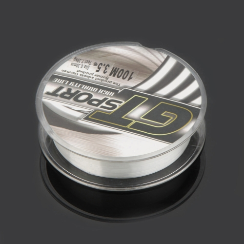 1PC Strong Monofilament Nylon Fishing Line Transparent 100M 0.30mm Diameter 16.3LBSports &amp; Outdoor<br>1PC Strong Monofilament Nylon Fishing Line Transparent 100M 0.30mm Diameter 16.3LB<br>