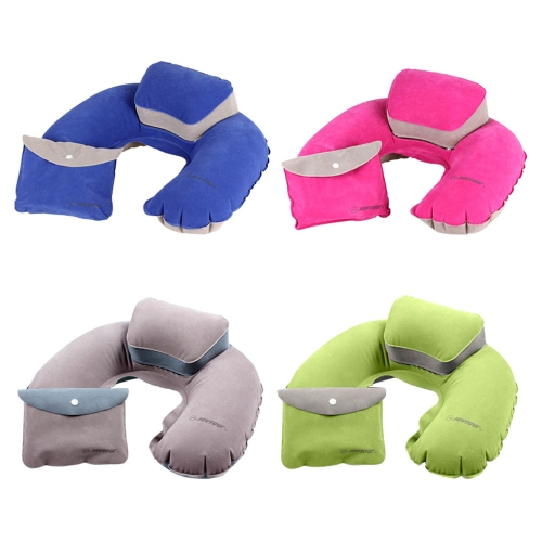 Air Pillow Inflatable U Shape Neck Blow Up Cushion PVC Flocking Camping Travel Outdoor Office Plane Hotel Portable FoldingSports &amp; Outdoor<br>Air Pillow Inflatable U Shape Neck Blow Up Cushion PVC Flocking Camping Travel Outdoor Office Plane Hotel Portable Folding<br>