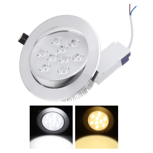 9*1W LED Recessed Ceiling Down Light Lamp Spotlight Indoor for Home Living Room Decoration Lighting with Driver AC85-265VHome &amp; Garden<br>9*1W LED Recessed Ceiling Down Light Lamp Spotlight Indoor for Home Living Room Decoration Lighting with Driver AC85-265V<br>
