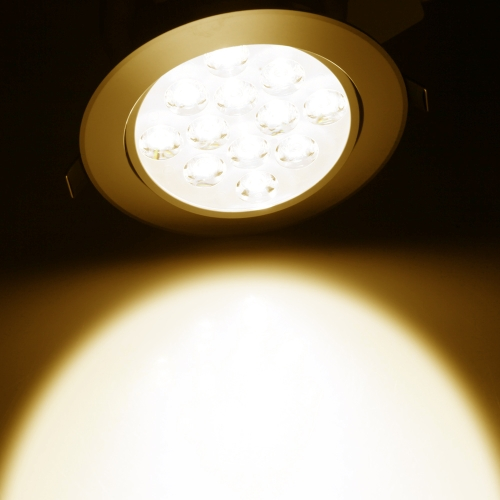 12*1W LED Recessed Ceiling Down Light Lamp Spotlight Indoor for Home Living Room Decoration Lighting with Driver AC85-265VHome &amp; Garden<br>12*1W LED Recessed Ceiling Down Light Lamp Spotlight Indoor for Home Living Room Decoration Lighting with Driver AC85-265V<br>
