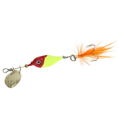 8cm 10g Colorful Fishing Lure Hard Bait Metal Spoon with Feather/Hook Fishing TackleSports &amp; Outdoor<br>8cm 10g Colorful Fishing Lure Hard Bait Metal Spoon with Feather/Hook Fishing Tackle<br>