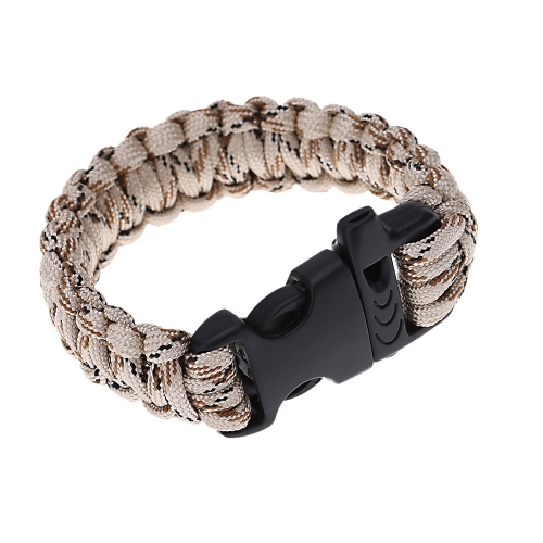 Multi-color Paracord Parachute Cord Emergency Kit Survival Bracelet Rope with Whistle Buckle Outdoor CampingSports &amp; Outdoor<br>Multi-color Paracord Parachute Cord Emergency Kit Survival Bracelet Rope with Whistle Buckle Outdoor Camping<br>