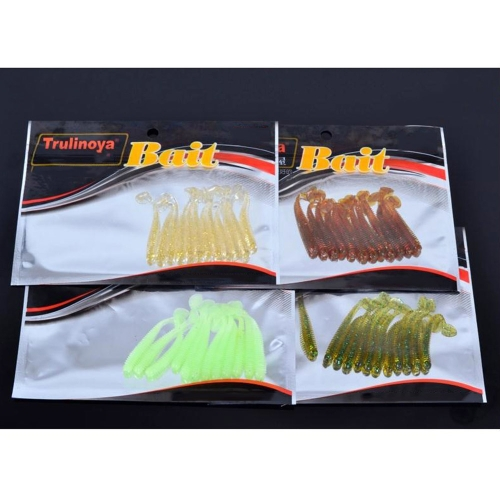 12Pcs 5cm / 0.6g Soft Artificial Fishing Lures Small Size Lightweight Grub Worm SwimbaitsSports &amp; Outdoor<br>12Pcs 5cm / 0.6g Soft Artificial Fishing Lures Small Size Lightweight Grub Worm Swimbaits<br>