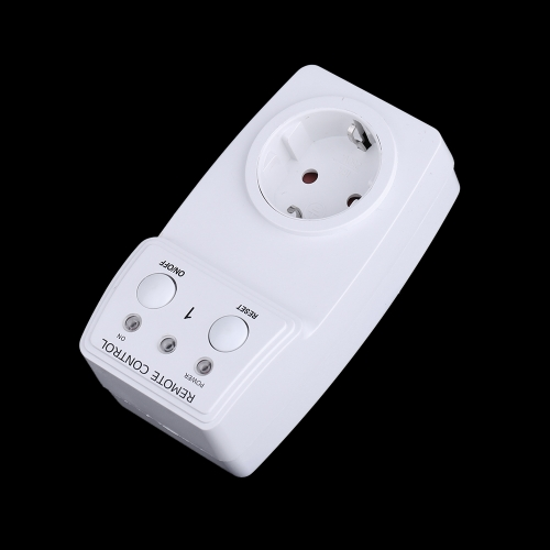 Wireless Remote Control Power Outlet Plug Socket Switch Set for Lamps Household Appliance 120V-230VHome &amp; Garden<br>Wireless Remote Control Power Outlet Plug Socket Switch Set for Lamps Household Appliance 120V-230V<br>