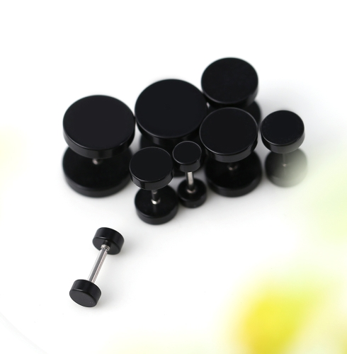8Pcs Semi-circle Unisex Acrylic Fake Ear Plug Tunnel Stretcher Expander Expansion Stud Earrings CheaterHealth &amp; Beauty<br>8Pcs Semi-circle Unisex Acrylic Fake Ear Plug Tunnel Stretcher Expander Expansion Stud Earrings Cheater<br>