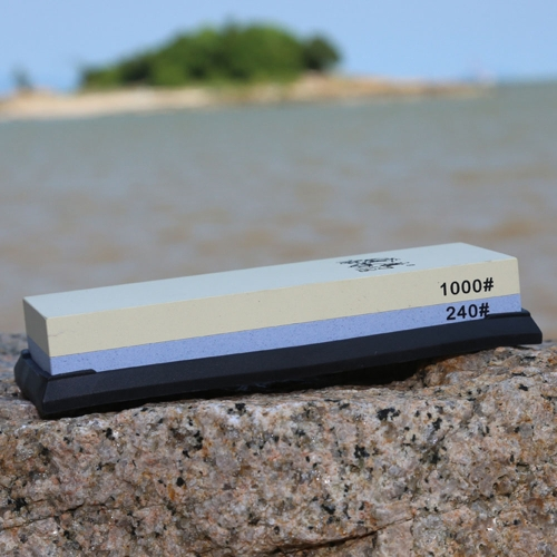 TAIDEA 240/1000 Grit Combination Corundum Whetstone Dual-sided Knife Sharpening Stone for Kitchen KnivesHome &amp; Garden<br>TAIDEA 240/1000 Grit Combination Corundum Whetstone Dual-sided Knife Sharpening Stone for Kitchen Knives<br>