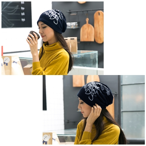 Korean Fashion Men Women Beanie Letter Print Hip-hop Unisex Knitted Hat Cap Headwear Dark BlueApparel &amp; Jewelry<br>Korean Fashion Men Women Beanie Letter Print Hip-hop Unisex Knitted Hat Cap Headwear Dark Blue<br>