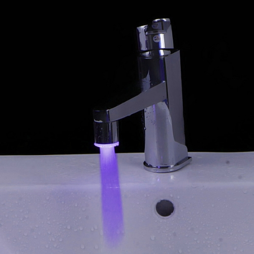Mini Pure Copper Glow LED Light Water Stream Faucet Tap 7 ColorHome &amp; Garden<br>Mini Pure Copper Glow LED Light Water Stream Faucet Tap 7 Color<br>