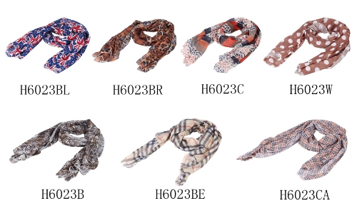 New Colorful Women Chiffon Scarf Leopard Polka Dot Flag Tiger Print Long Shawl Wrap PashminaApparel &amp; Jewelry<br>New Colorful Women Chiffon Scarf Leopard Polka Dot Flag Tiger Print Long Shawl Wrap Pashmina<br>