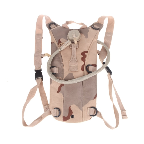 2.5L TPU Hydration System Bladder Water Bag Backpack Tan CamouflageSports &amp; Outdoor<br>2.5L TPU Hydration System Bladder Water Bag Backpack Tan Camouflage<br>