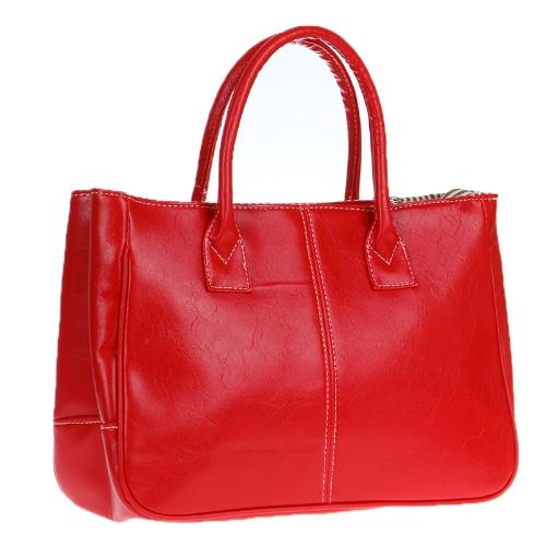 Fashion Womens Lady Handbag PU (Faux) Leather Shoulder Bag Totes Purse Hobo RedApparel &amp; Jewelry<br>Fashion Womens Lady Handbag PU (Faux) Leather Shoulder Bag Totes Purse Hobo Red<br>