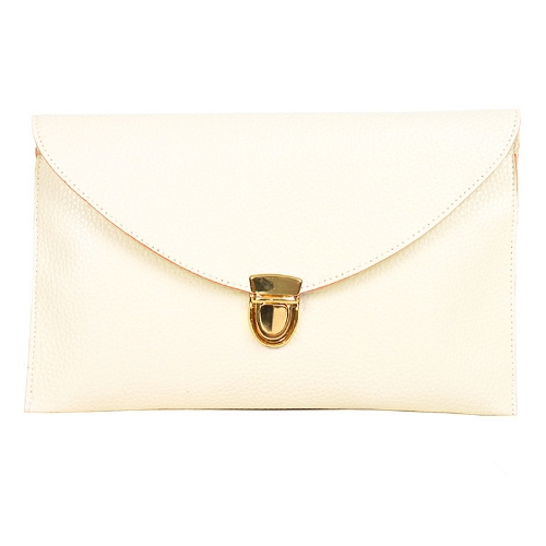 Fashion Lady Women Envelope Clutch Chain Purse Handbag Shoulder Tote Messenger Bag BeigeApparel &amp; Jewelry<br>Fashion Lady Women Envelope Clutch Chain Purse Handbag Shoulder Tote Messenger Bag Beige<br>