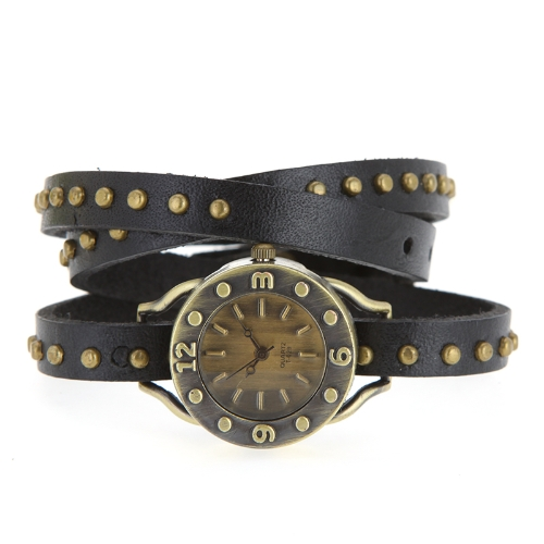 Women's Vintage Rivets Bracelet Wrist WatchApparel &amp; Jewelry<br>Women's Vintage Rivets Bracelet Wrist Watch<br>