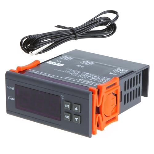 アラーム機能と120℃に10A 220Vデジタル温度コントローラ熱電対-40℃