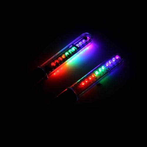 Colorful Cycling Bicycle Bike Tire Wheel Valve 2*11-LED Flash Light 12-pattern WaterproofSports &amp; Outdoor<br>Colorful Cycling Bicycle Bike Tire Wheel Valve 2*11-LED Flash Light 12-pattern Waterproof<br>