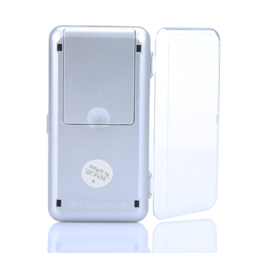 High Accuracy Mini Electronic Digital Pocket Scale Jewelry Weighing Balance Portable 500g/0.1g Counting Function Blue LCD g/tl/oz/Test Equipment &amp; Tools<br>High Accuracy Mini Electronic Digital Pocket Scale Jewelry Weighing Balance Portable 500g/0.1g Counting Function Blue LCD g/tl/oz/<br>