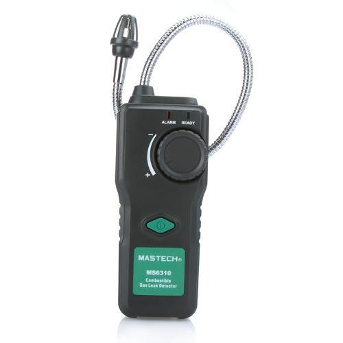 ポータブル多機能可燃性ガス検出器可燃性ガス漏れテスター 10-40% 音光警報調節可能な感度