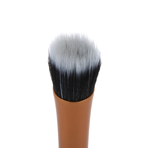 Professional Cosmetic Brush Face Make Up Blusher Powder Foundation Tool Flat Top Duo Fibre GoldHealth &amp; Beauty<br>Professional Cosmetic Brush Face Make Up Blusher Powder Foundation Tool Flat Top Duo Fibre Gold<br>