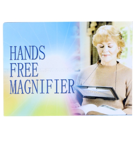 Ultrathin A4 Full Page Large PVC Magnifier 3X Foldable Magnifying Glass Loupe Hands Free for Reading with 4 LED LightsTest Equipment &amp; Tools<br>Ultrathin A4 Full Page Large PVC Magnifier 3X Foldable Magnifying Glass Loupe Hands Free for Reading with 4 LED Lights<br>
