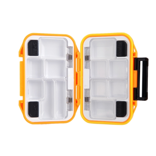 12 Compartments Waterproof Storage Case Fly Fishing Lure Spoon Hook Bait Tackle Box OrangeSports &amp; Outdoor<br>12 Compartments Waterproof Storage Case Fly Fishing Lure Spoon Hook Bait Tackle Box Orange<br>