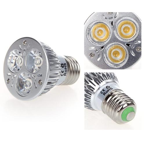 9W 85-265V E27 Warm White LED Light Spotlight Lamp BulbHome &amp; Garden<br>9W 85-265V E27 Warm White LED Light Spotlight Lamp Bulb<br>