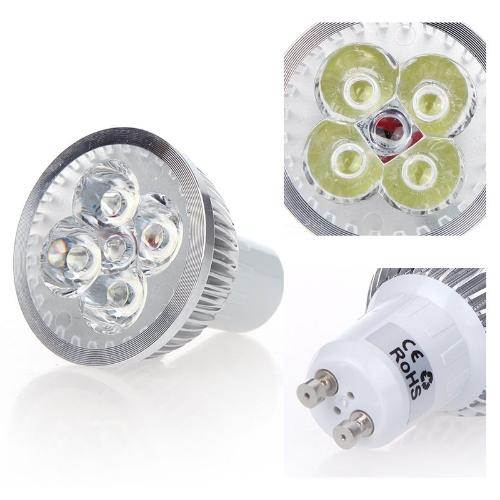 Dimmable LED Light Spotlight Lamp Bulb White 4W GU10 185-265V Energy-savingHome &amp; Garden<br>Dimmable LED Light Spotlight Lamp Bulb White 4W GU10 185-265V Energy-saving<br>