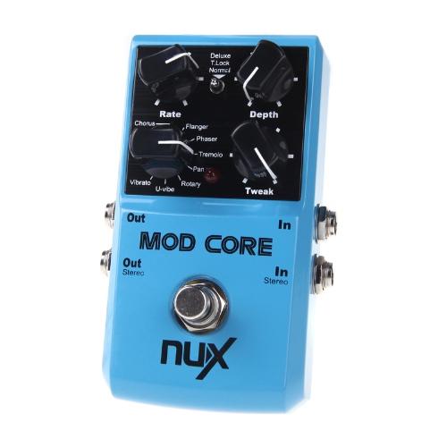 NUX MOD Core Guitar Effect Pedal 8 Modulation Effects Preset Tone LockToys &amp; Hobbies<br>NUX MOD Core Guitar Effect Pedal 8 Modulation Effects Preset Tone Lock<br>