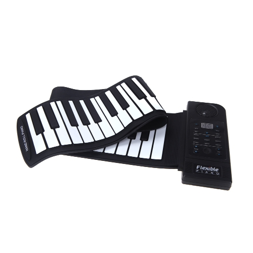61 Key Electronic Piano Keyboard Silicon Flexible Roll Up Piano Sustain Function USB Port with Loud SpeakerToys &amp; Hobbies<br>61 Key Electronic Piano Keyboard Silicon Flexible Roll Up Piano Sustain Function USB Port with Loud Speaker<br>